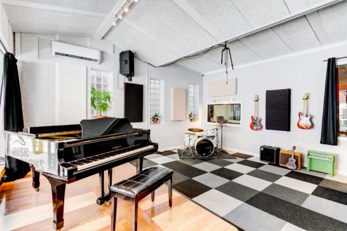 دکوراسیون اتاق موسیقی