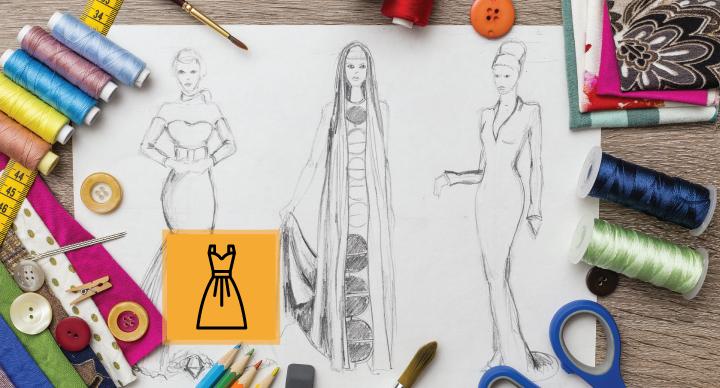 دوره های آموزش صفر تا صد طراحی لباس