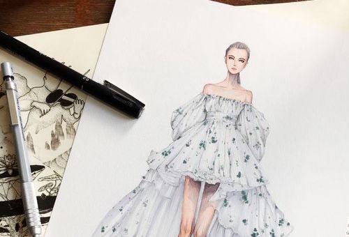 آموزش صفر تا صد طراحی لباس و نکات آن