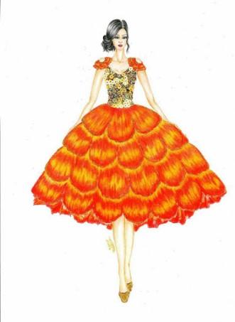 طراحی لباس از ابعاد متفاوت