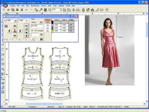 نرم افزار طراحی لباس با کامپیوتر