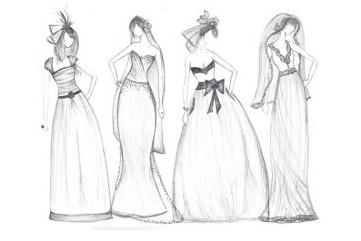 هر آنچه که باید در خصوص آموزش طراحی لباس با مداد سیاه بدانید