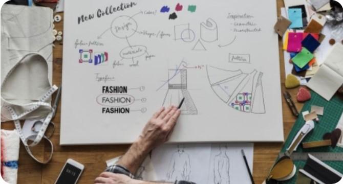 وسایل مورد نیاز برای دوره های آموزش طراحی لباس با مداد سیاه