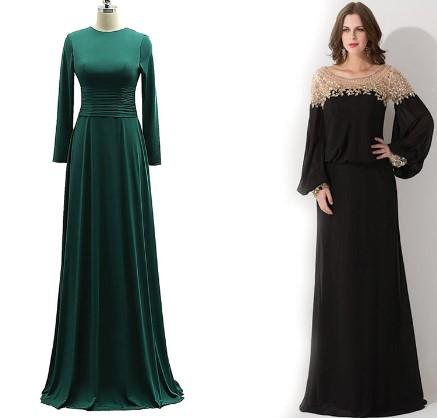 انواع طراحی لباس مجلسی زنانه