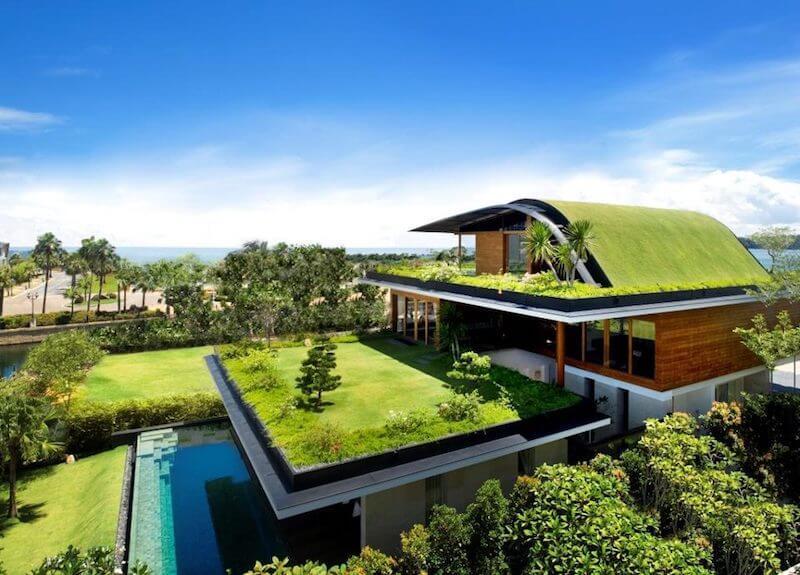 ساختمانهای سبز فراتر از صفحات خورشیدی